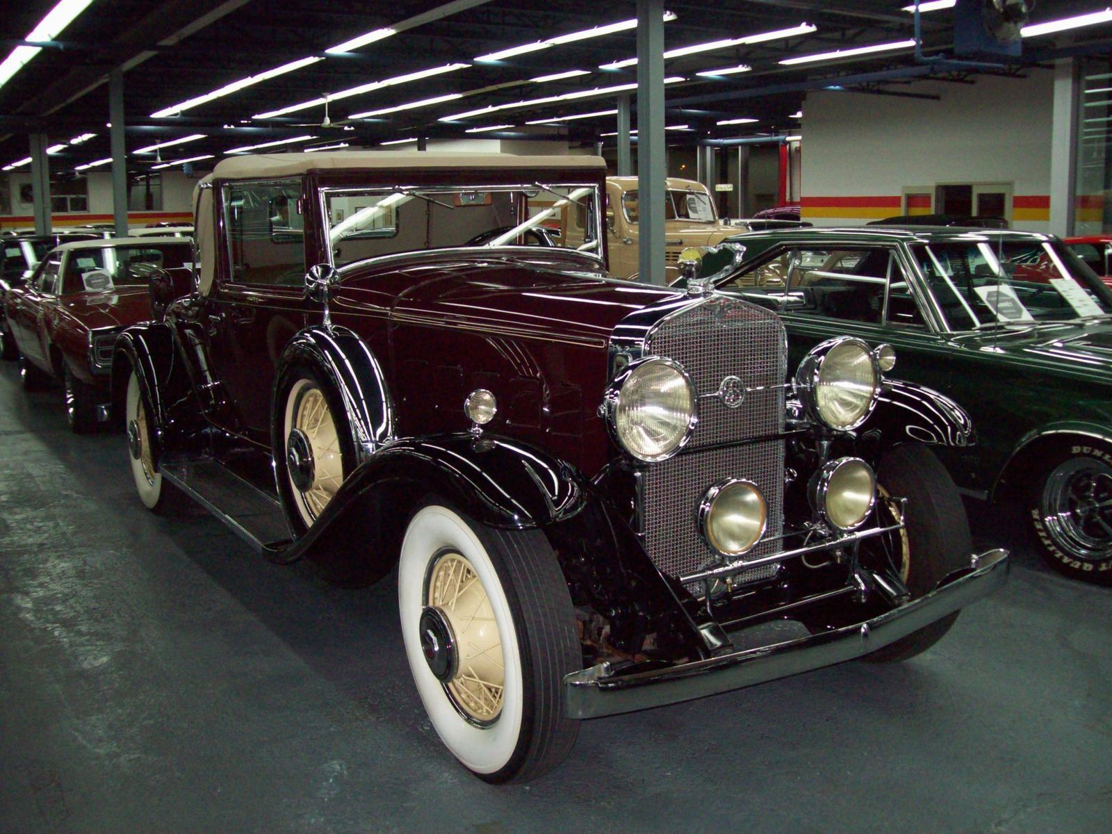 Cadillac Lasalle 340 Convertible Coupe Rumble Seat 1931